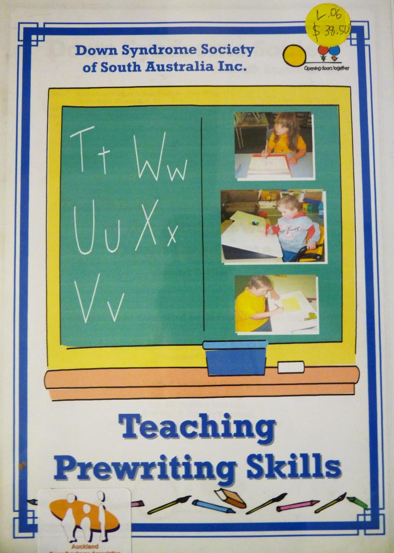 Teaching Prewriting Skills Image