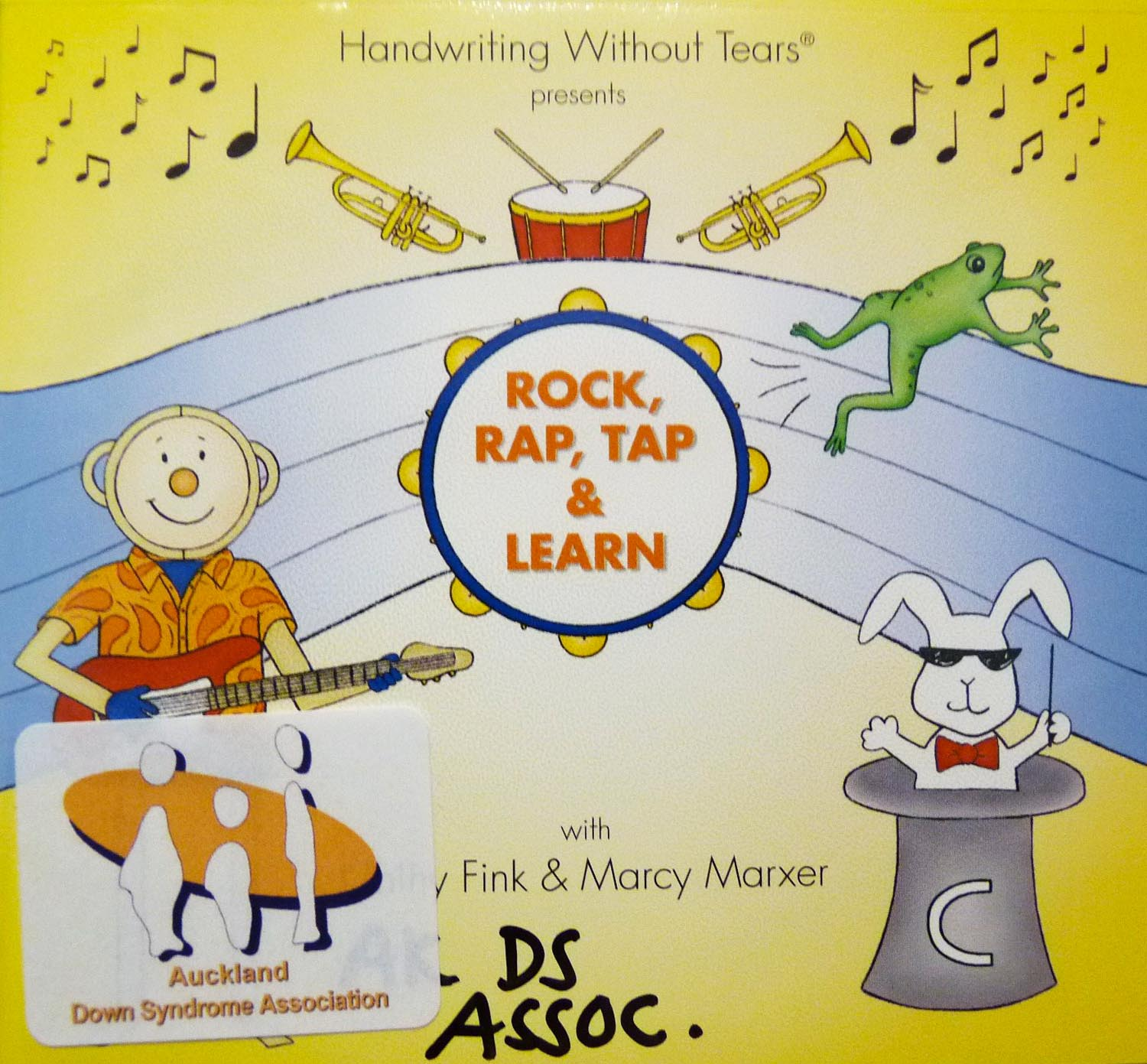 Mat Man - Rock, Rap, Tap and Learn CD Pack - Hand Writing Without Tears Image
