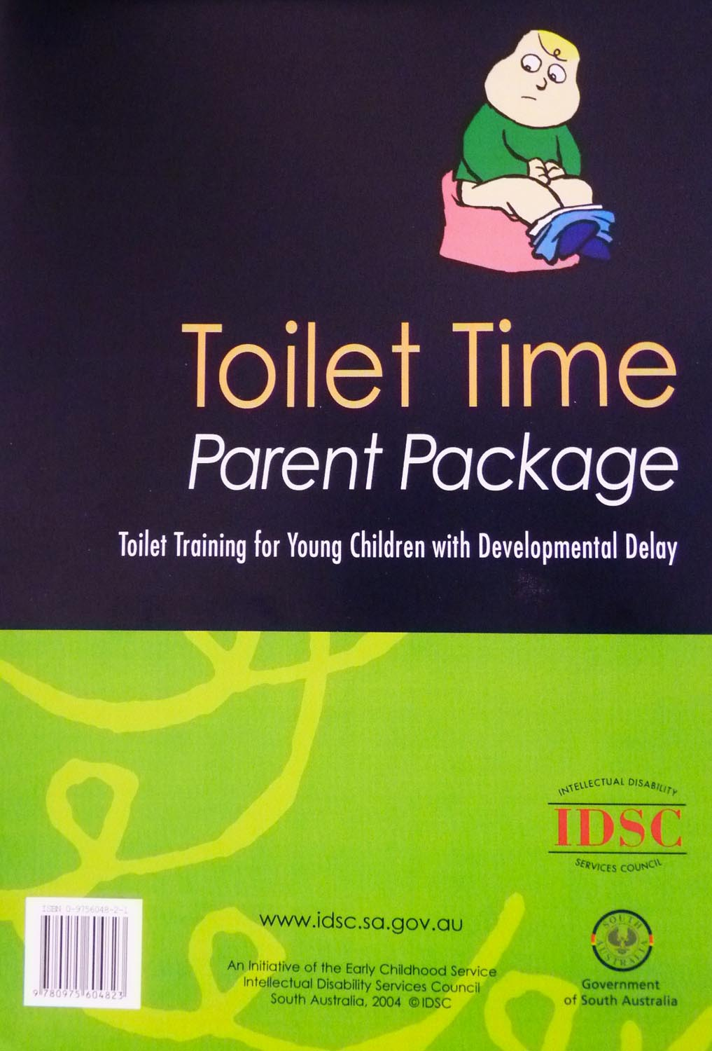Toilet Time Parent Package (Boys) Image