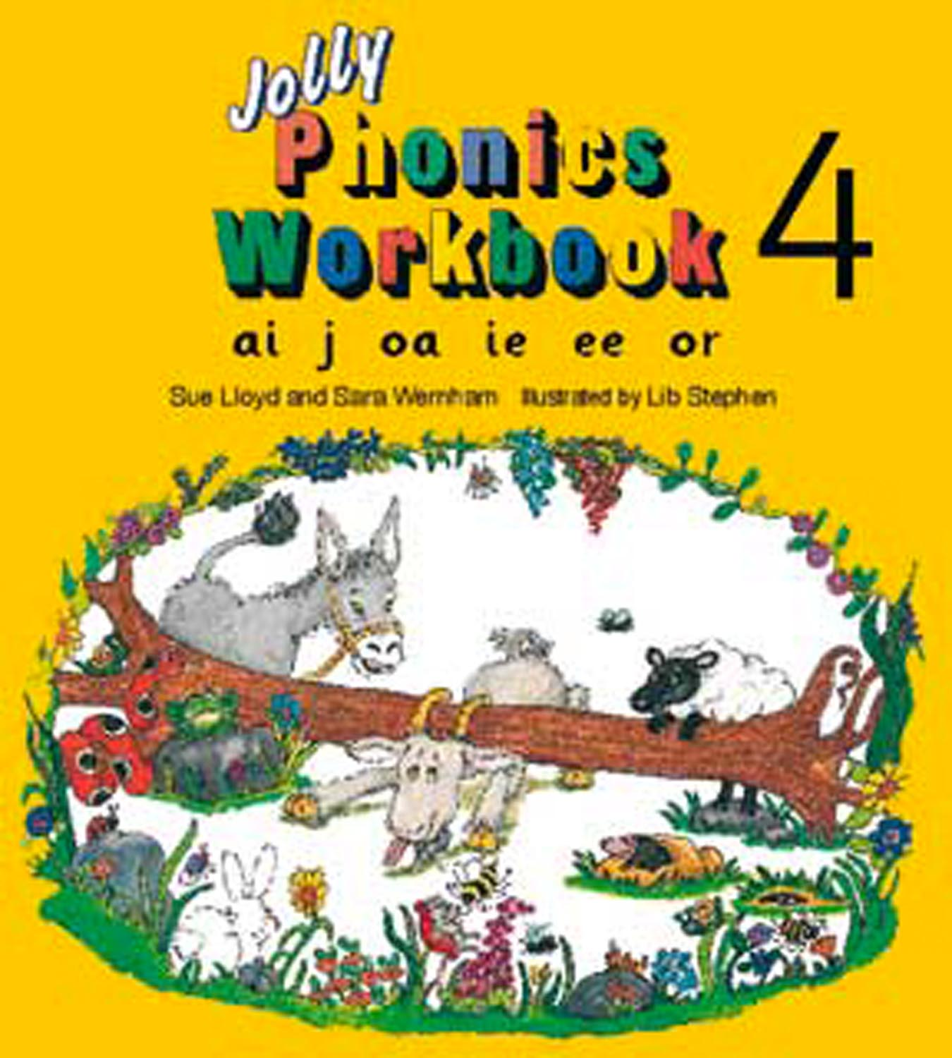 Jolly Phonics - Pack 4 Image