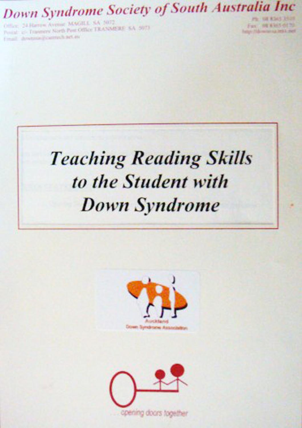 Teaching Reading Skills to the Student with Down Syndrome Image