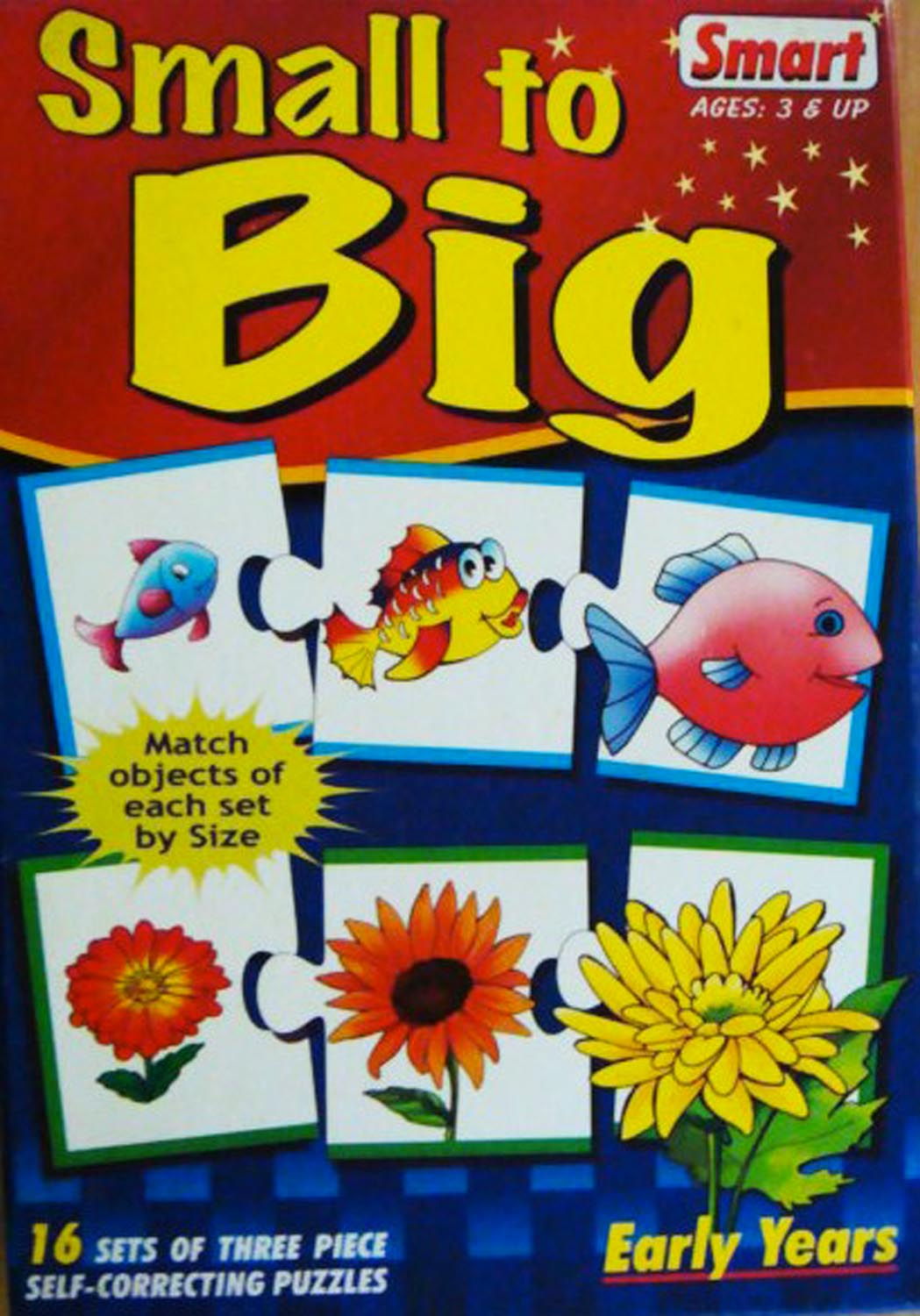Small To Big – Self Correcting Puzzle