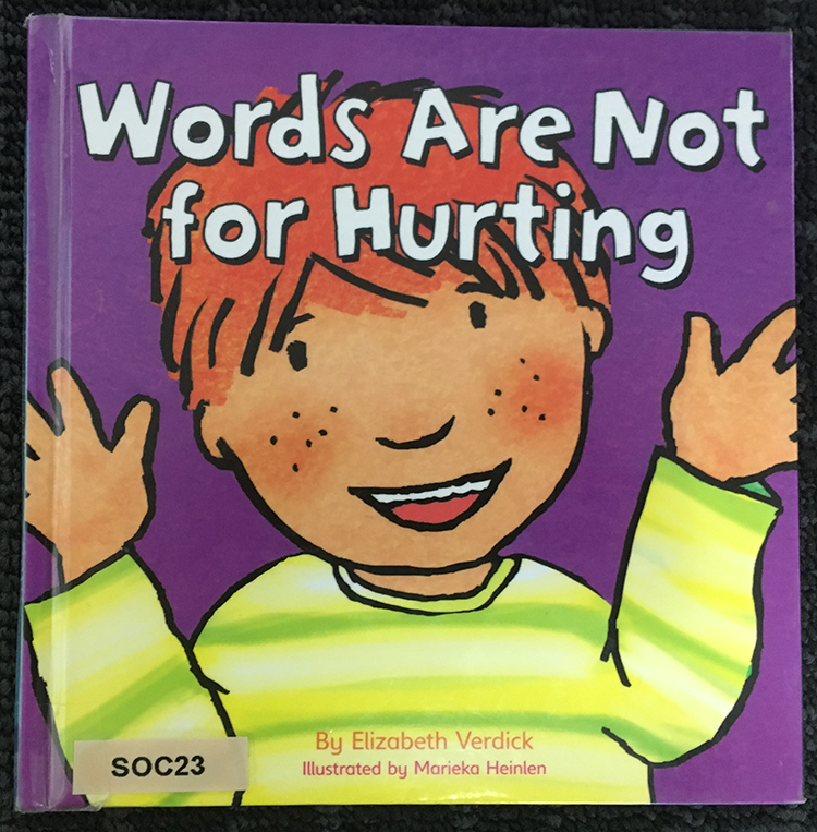 Words are not for hurting book