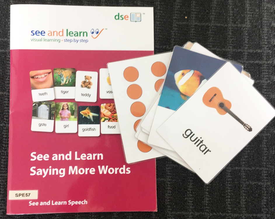 See & Learn - Saying More Words Image