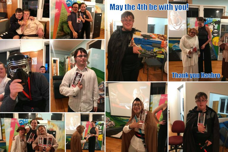 SOCIAL CLUB CELEBRATES STAR WARS DAY