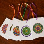 Eight gift tags