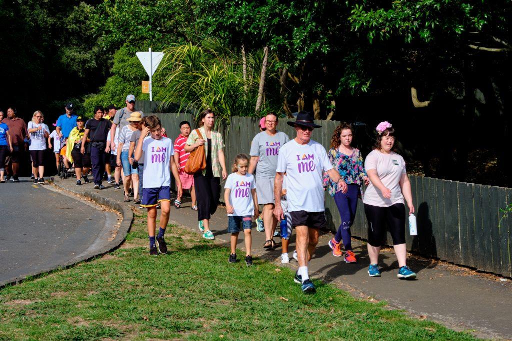 ADSA supporters and members enjoying Buddy Walk