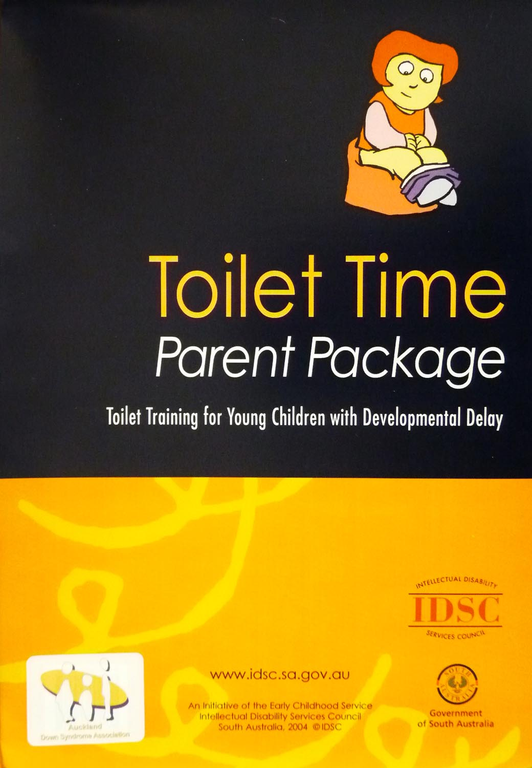 Toilet Time Parent Package (Girls)