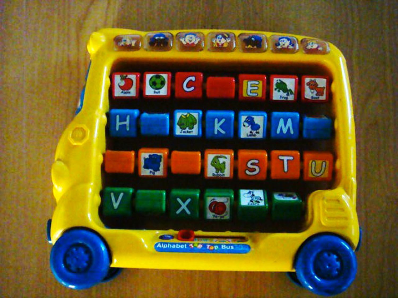 Alphabet Tap Tap Bus