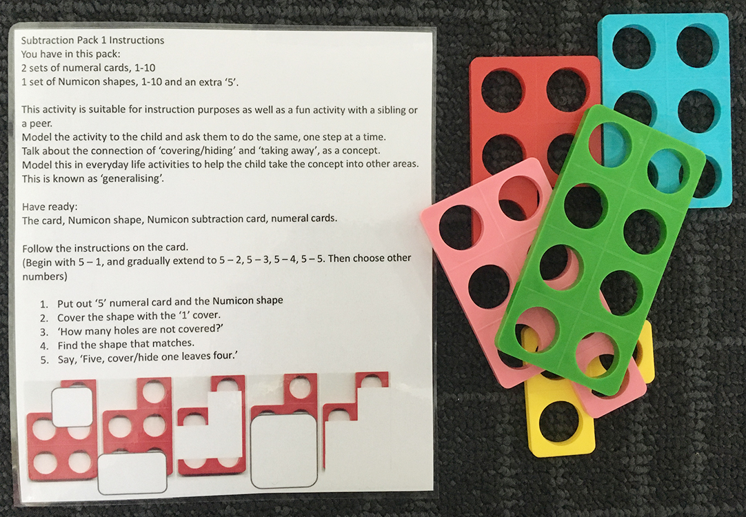Subtraction Pack 2