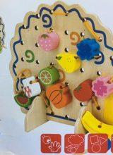 EQU78-hedgehog-fruit-string-of-beads